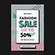Fashion Sale Flyer - GraphicRiver Item for Sale