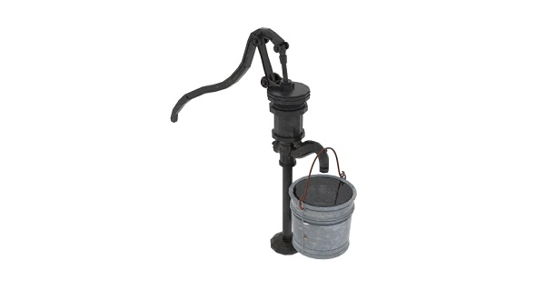 Old Water Pumps Gas Pumps - 3DOcean Item for Sale