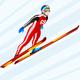 Ski Jumping Winter Sports