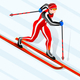Skier Cross-Country Winter Sports - GraphicRiver Item for Sale