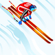 Skier Jump 3D Vector Illustration - GraphicRiver Item for Sale