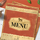 Retro Menu - GraphicRiver Item for Sale