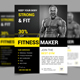 Fitness & Gym Flyer Vol 5 - GraphicRiver Item for Sale
