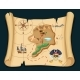 Old Treasure Map for Pirate Adventures