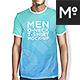 2 Types Men T-shirt Mock-up
