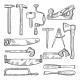 Tools in Carpentry Workshop