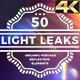 Light Leaks 50 Pack 4K