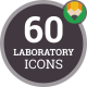 Icons Pack Scientific Research Medical Laboratory Flat Animated Icons - VideoHive Item for Sale