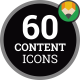 Icons Pack Marketing Content Media Flat Animated Icons