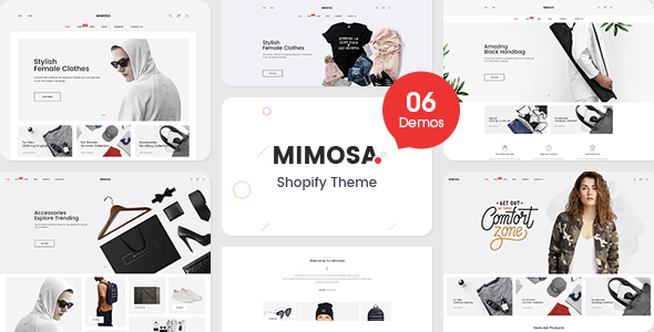 Image of Mimosa - Responsive Clothing, Bags, Kids, Shoes, Furniture, Fashion Shopify Theme (Sections Ready)