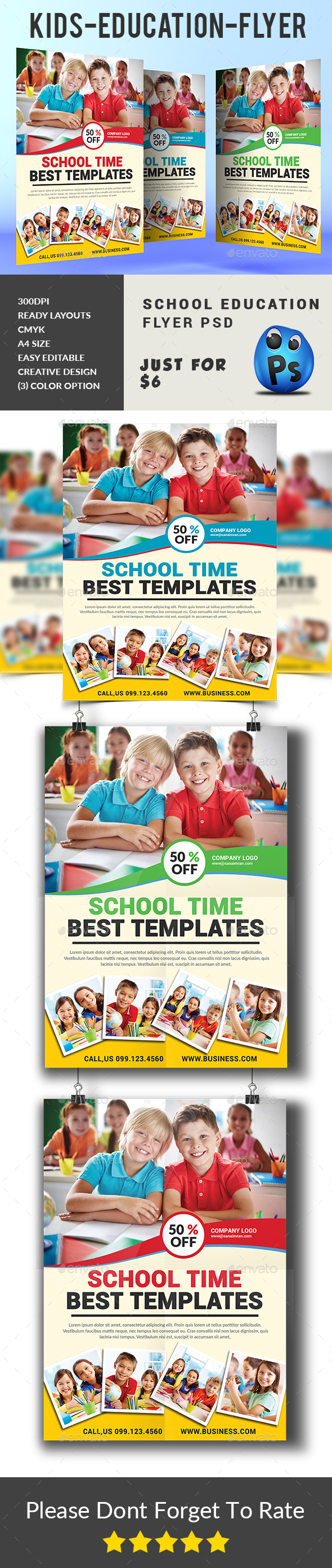 Kids Education Flyer - Corporate Flyers