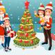 Christmas Tree at Winter Family Holidays