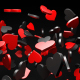 Red and Black Hearts - VideoHive Item for Sale