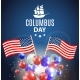 Vector Illustration of Columbus Day - GraphicRiver Item for Sale
