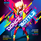 Dance Contest Flyer vol.3 - GraphicRiver Item for Sale
