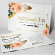 Wedding Postcard Print Templates