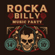Rockabilly Music Party Flyer