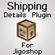 Shipping Details Plugin for Jigoshop