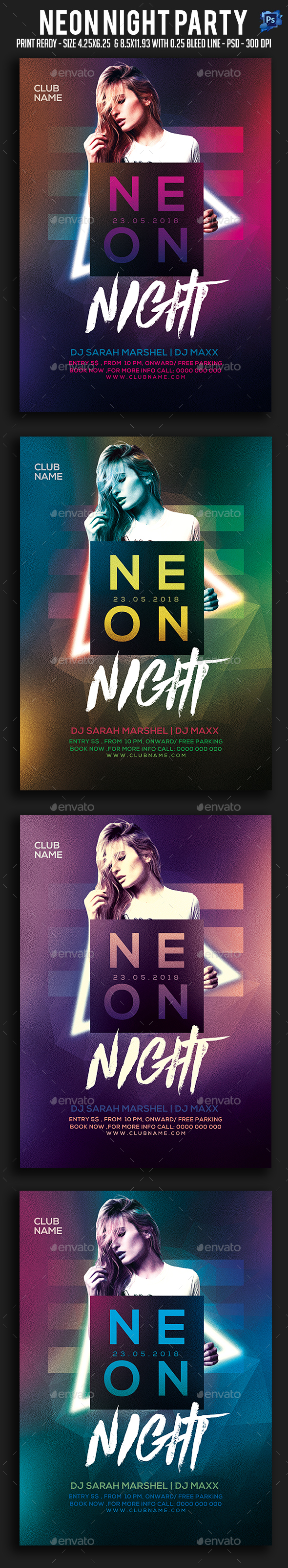 Sexy Night Party Flyer