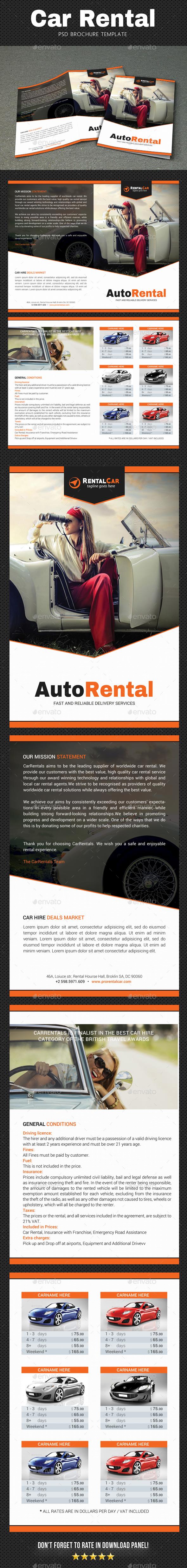 Rental Brochure 3 - Brochures Print Templates