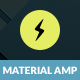 AMP Material | Mobile Google AMP Template - ThemeForest Item for Sale