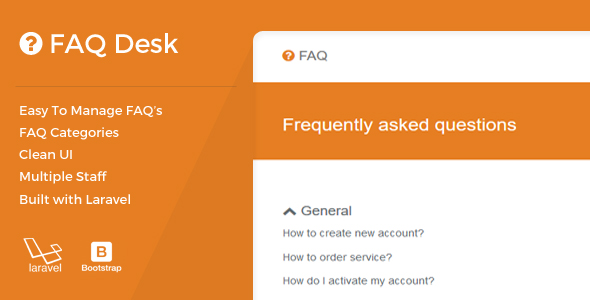 CodeCanyon FAQDesk Frequently asked questions management system 20727286