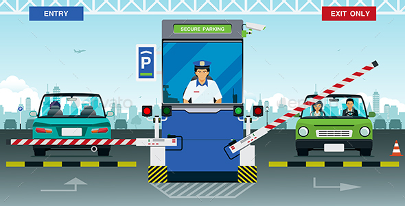 Secure Parking - Services Commercial / Shopping