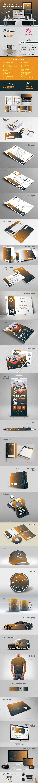 Minimal Mega Branding Identity - Stationery Print Templates