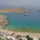 Aerial View of Lindos Beach - VideoHive Item for Sale