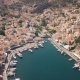 Small Town with Colorful Houses on Symi Island - VideoHive Item for Sale