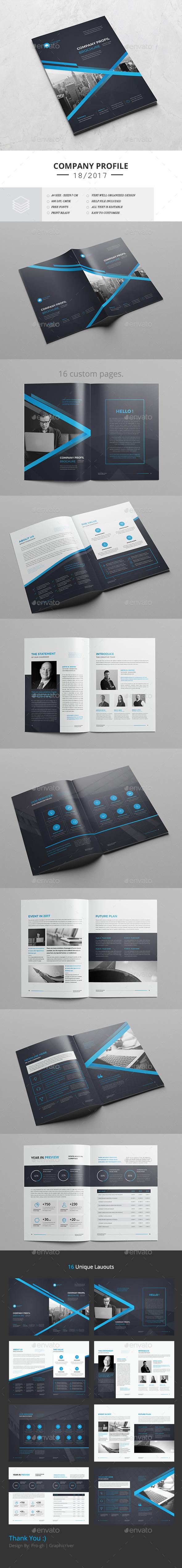 The Blue Corporate Brochure - Corporate Brochures
