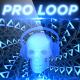 Blue Rocking Skull - Professional VJ Background Loop - VideoHive Item for Sale