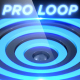 Blue Rings - Professional VJ Background Loop - VideoHive Item for Sale
