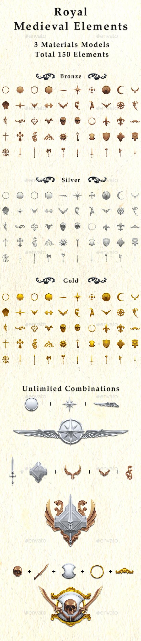 Royal Medieval Elements - Miscellaneous Web Elements