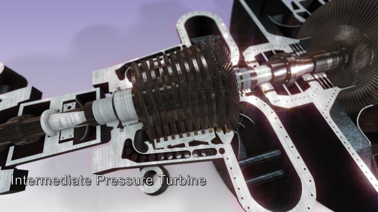 Steam Turbine Steam Power Plant By Nimazv 3docean