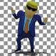 3D Boss Donald Trump Upbeat Corporate Inspiring Dance - VideoHive Item for Sale