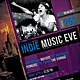 Indie Music Event Fyer / Poster - GraphicRiver Item for Sale