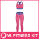 Women's Fitness Kit Mock-Up v2