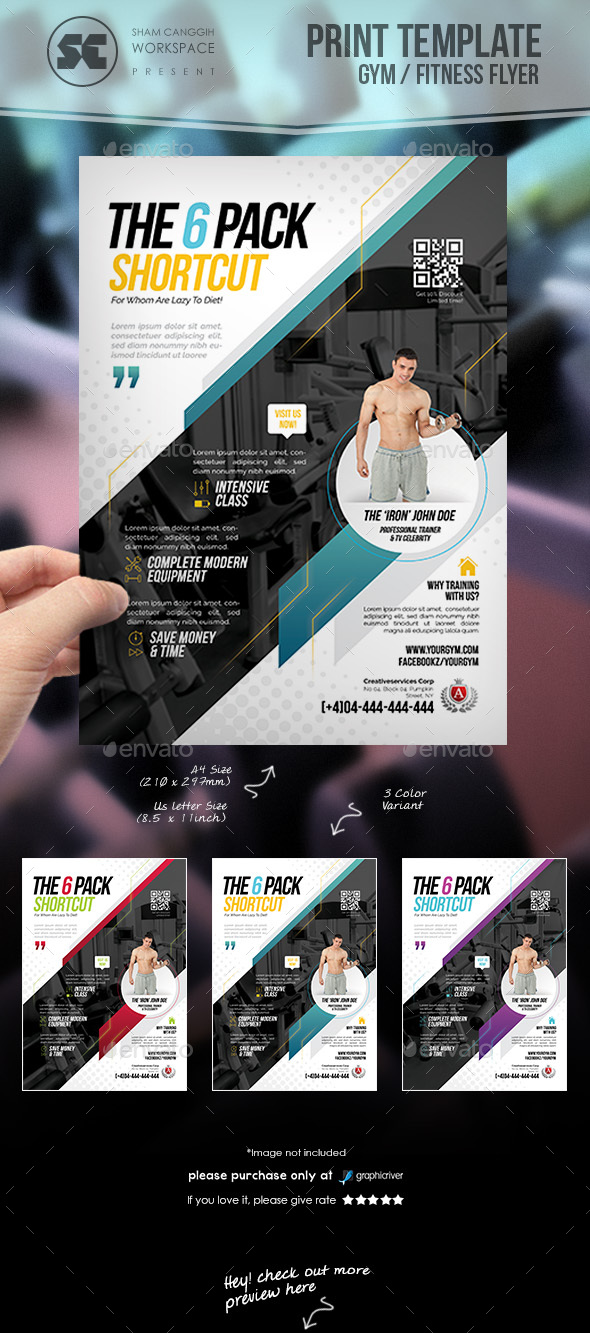 Fitness Gm Flyer - Miscellaneous Events