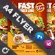 Restaurant Flyer Templates - GraphicRiver Item for Sale