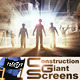 Construction Giant Screens - VideoHive Item for Sale