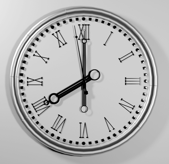 3DOcean Clock 20729287