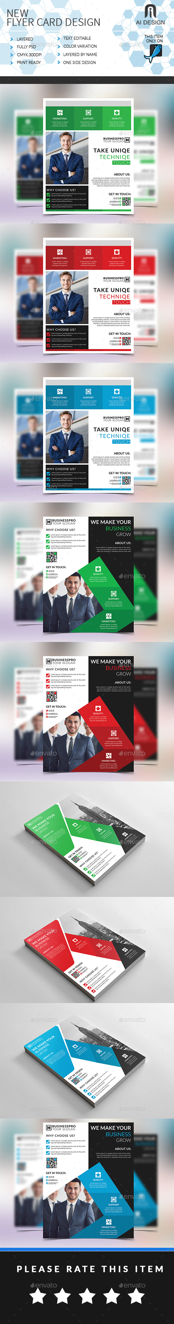 Business Flyer Bundle (3 in 1) - Flyers Print Templates