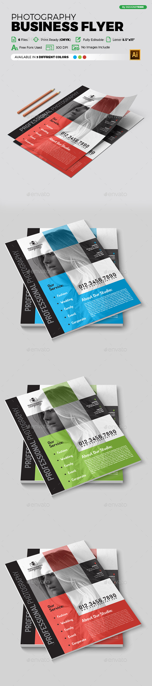Flyer – Multipurpose 347 - Corporate Flyers