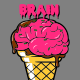 Icecream Cone Brain - GraphicRiver Item for Sale