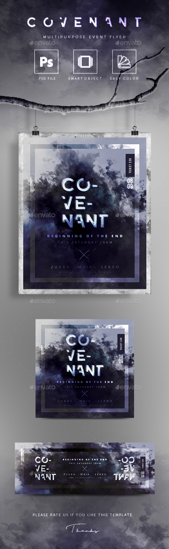 Covenant Poster / Flyer - Events Flyers