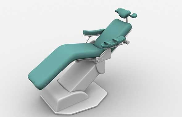 dental chair - 3DOcean Item for Sale