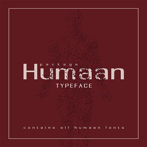 Humaan Typeface - Fonts
