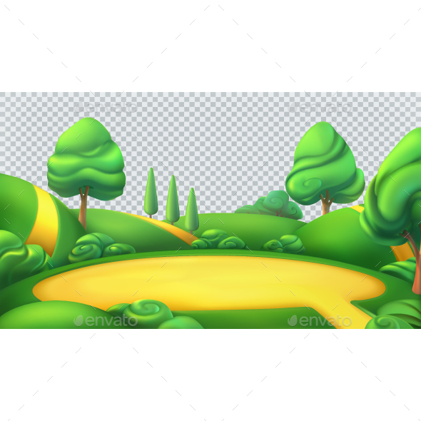 Nature Landscape - Vectors