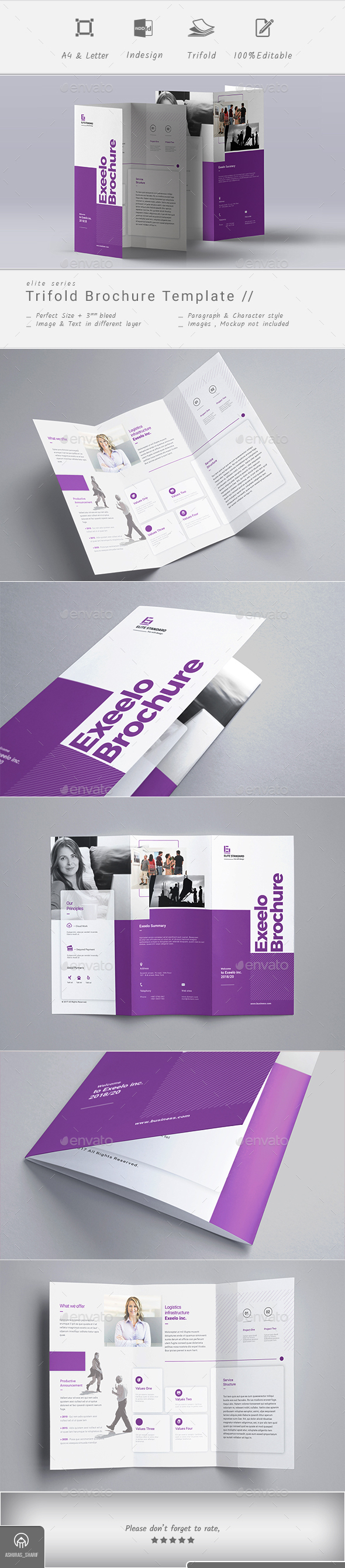 Exeelo Trifold Brochure - Corporate Brochures